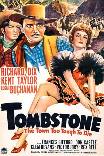 Tombstone: The Town too Tough to Die Poster