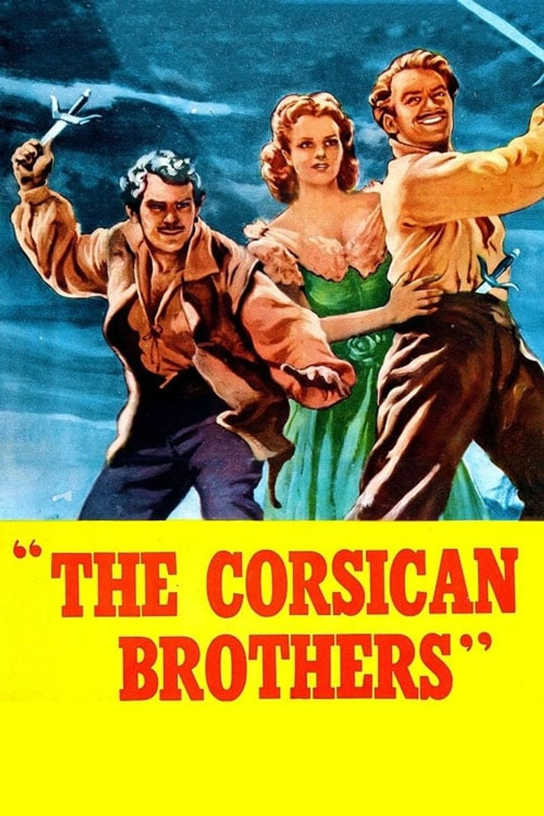 The Corsican Brothers Poster
