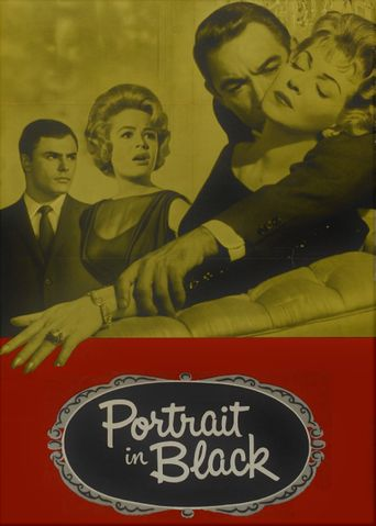 Portrait in Black Poster