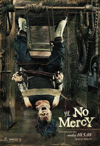 WWE No Mercy 2008 Poster