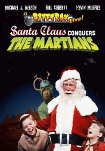 RiffTrax Live: Santa Claus Conquers the Martians Poster