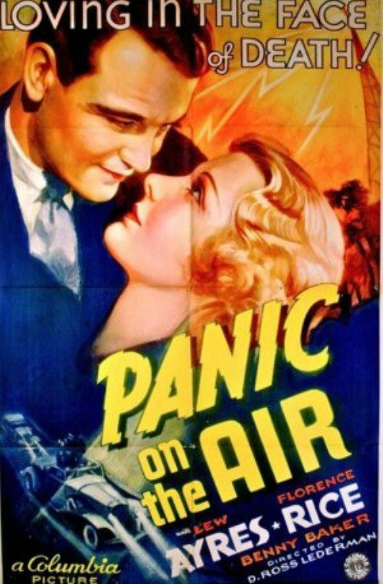 Panic On The Air Poster