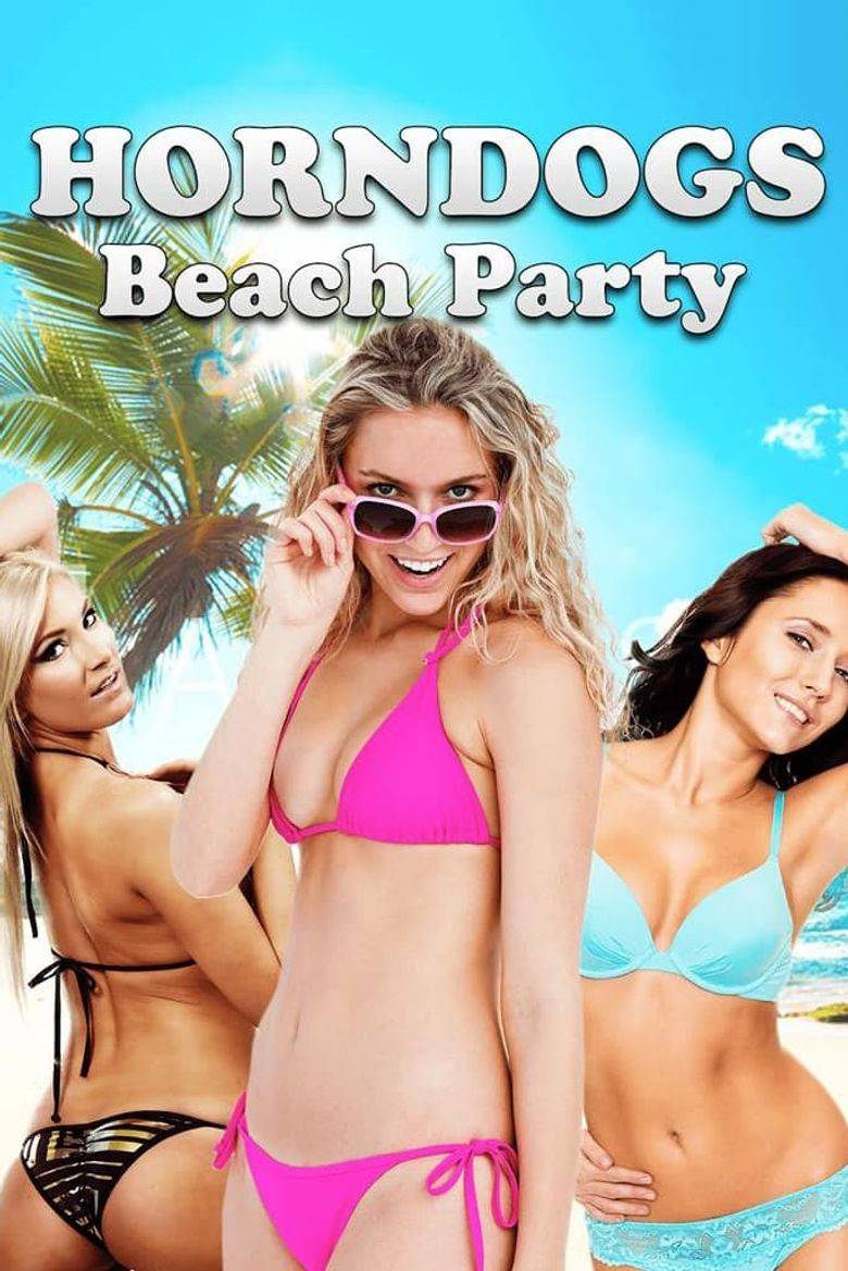 Horndogs Beach Party Poster