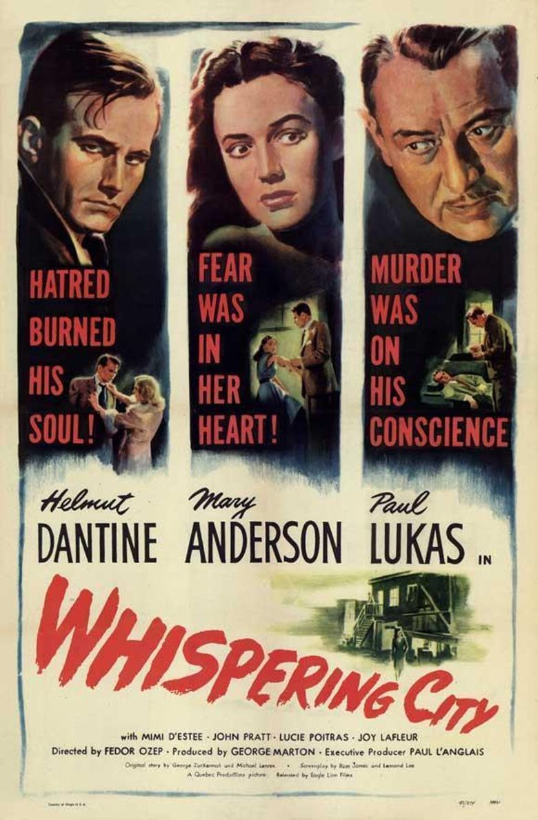 Whispering City Poster