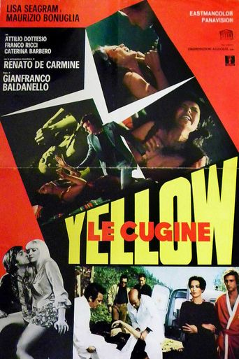 Yellow: Le Cugine Poster
