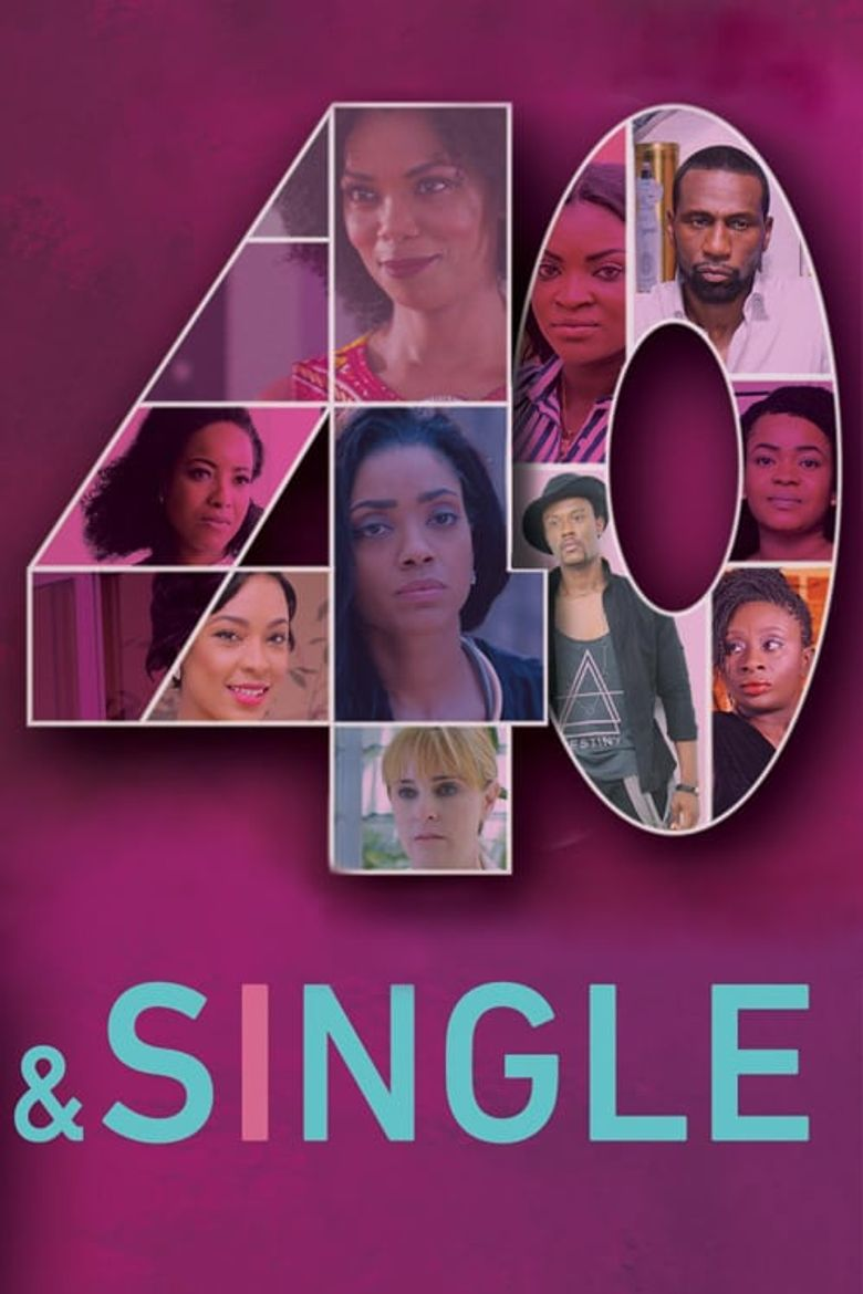 40 and Single Poster