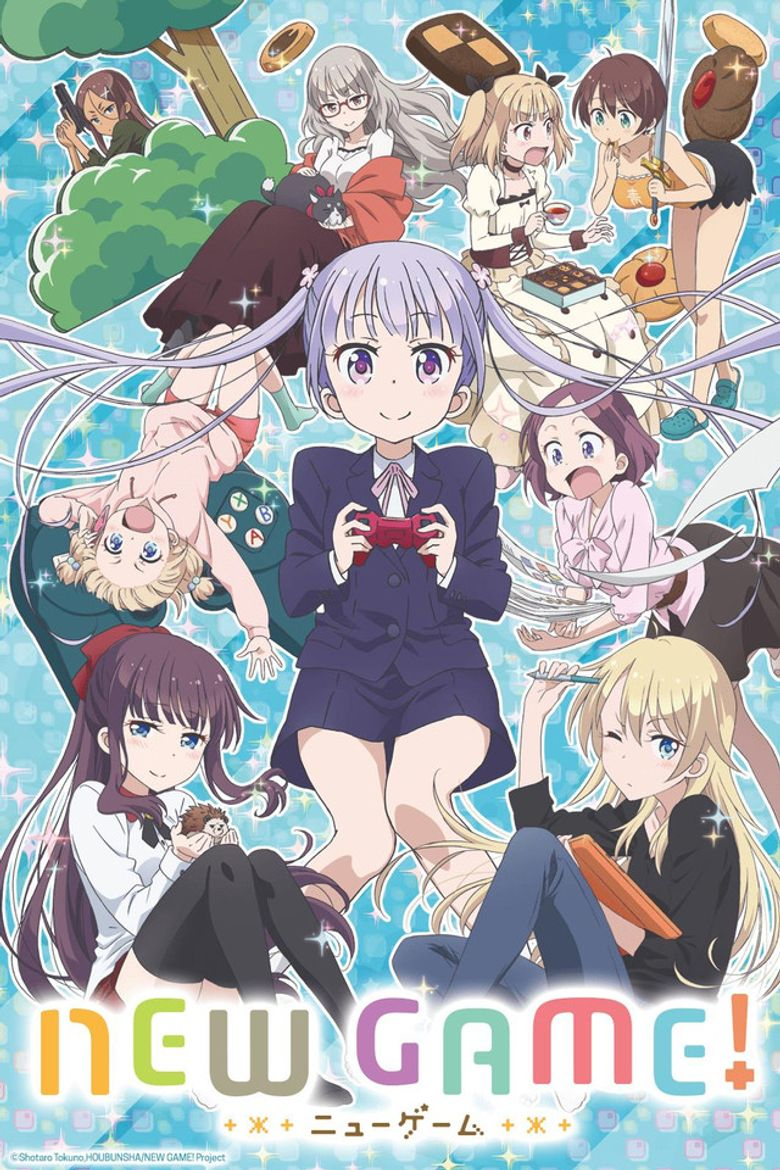 NEW GAME! Poster