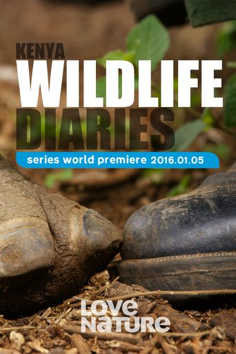 Kenya Wildlife Diaries Poster