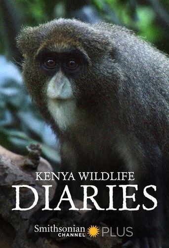 Kenya Wildlife Diaries Poster