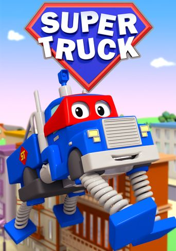 Super Truck of Car City Poster