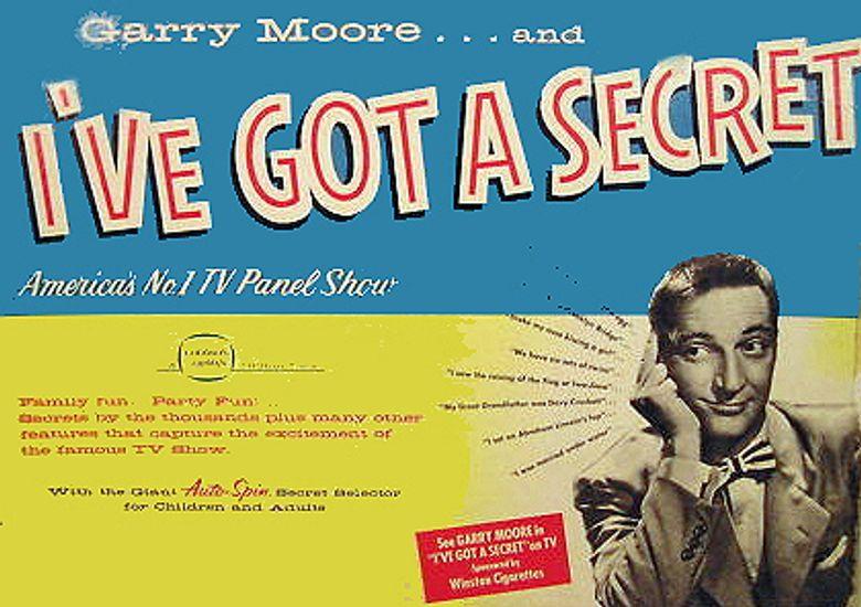 I've Got a Secret Poster