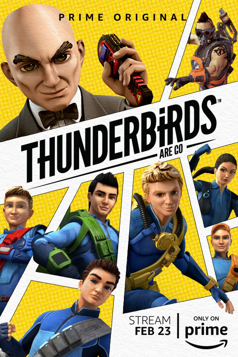 Watch Thunderbirds Are Go!