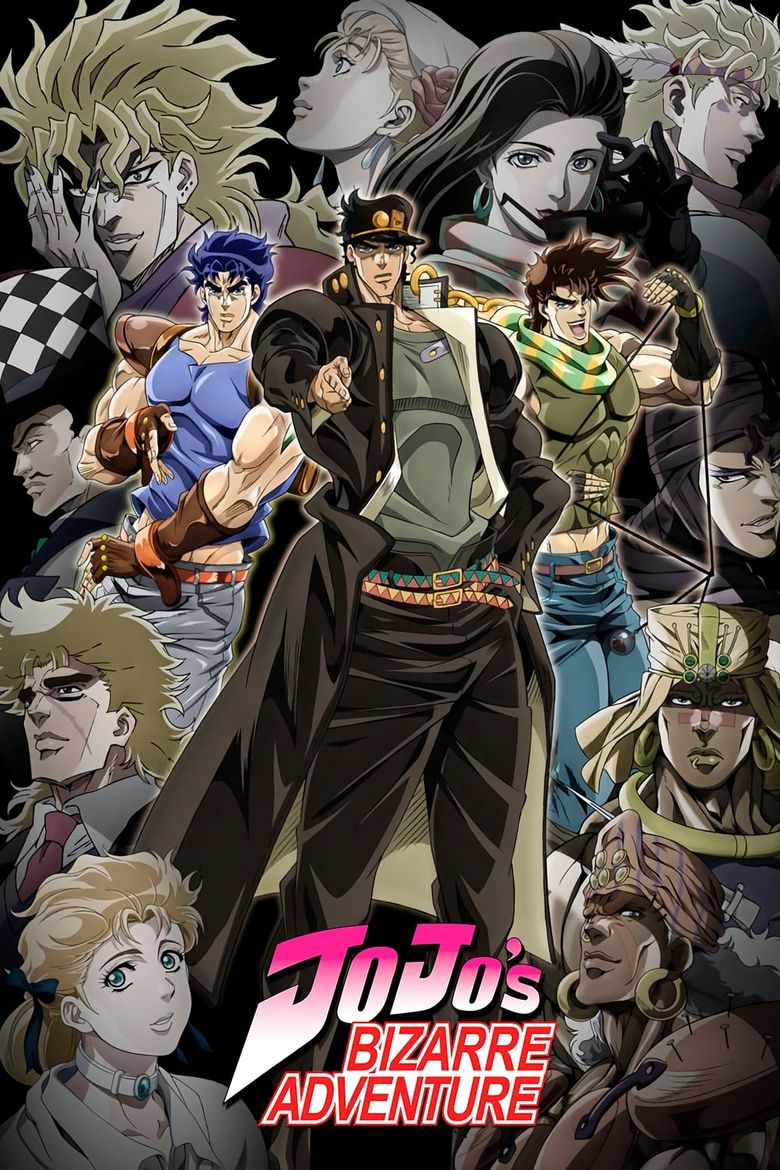 JoJo's Bizarre Adventure - Watch Episodes on Netflix, Hulu