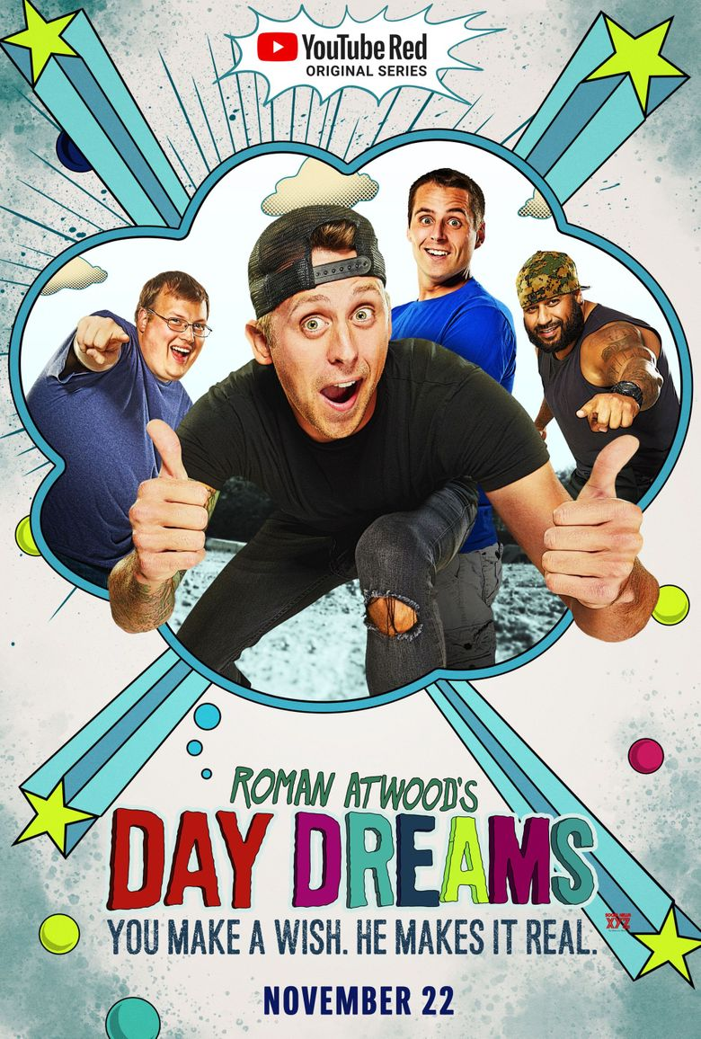 Roman Atwood's Day Dreams Poster