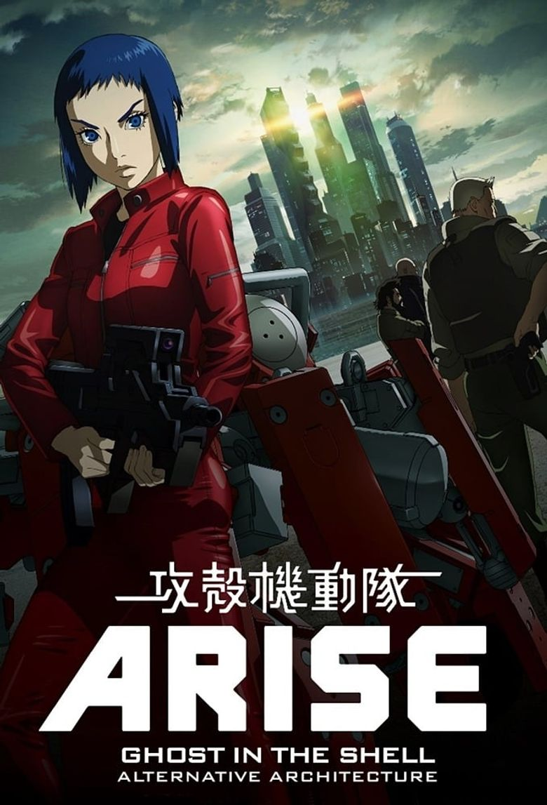 Ghost in the Shell: Arise Alternative Architecture Poster