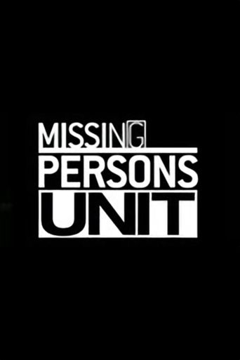 Missing Persons Unit Poster