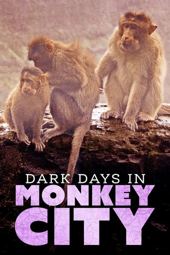 Dark Days in Monkey City Poster