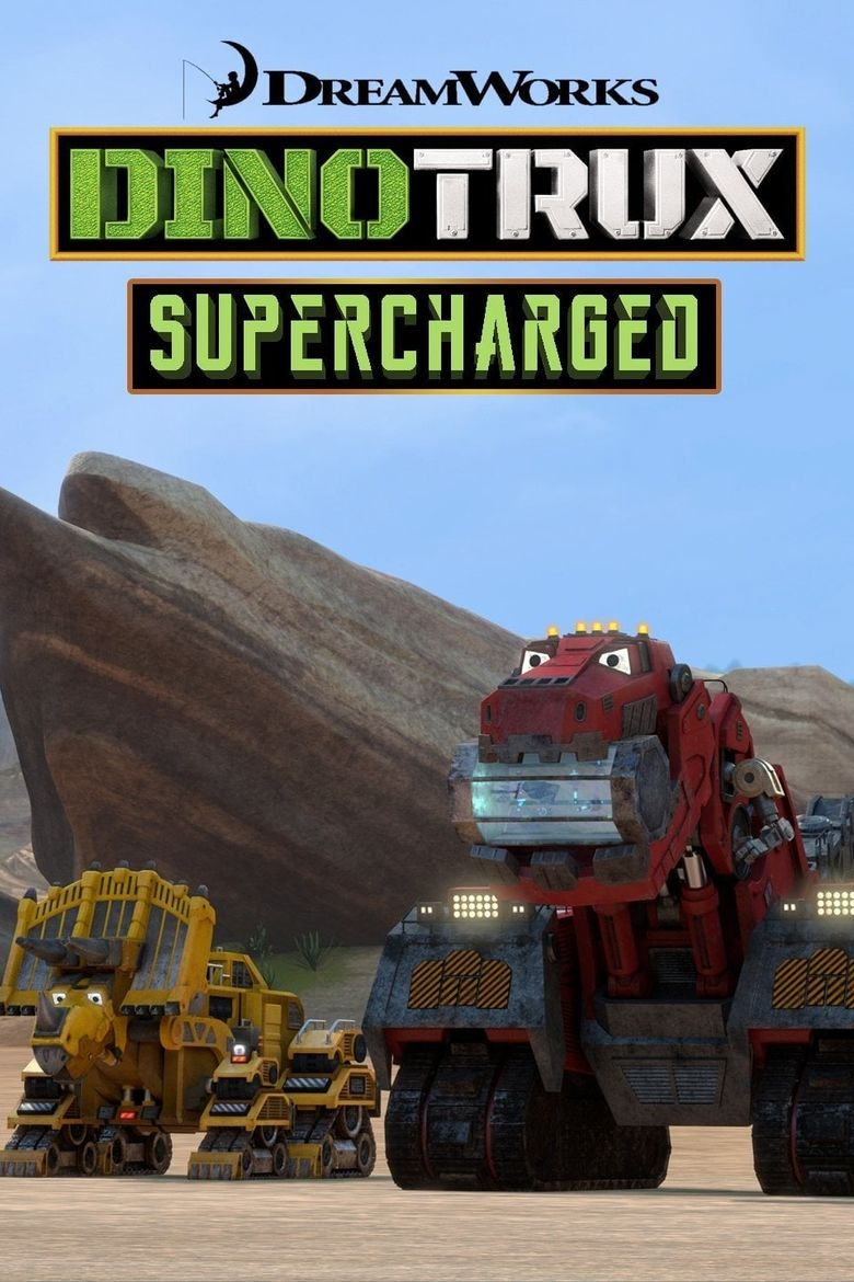 Dinotrux: Supercharged Poster