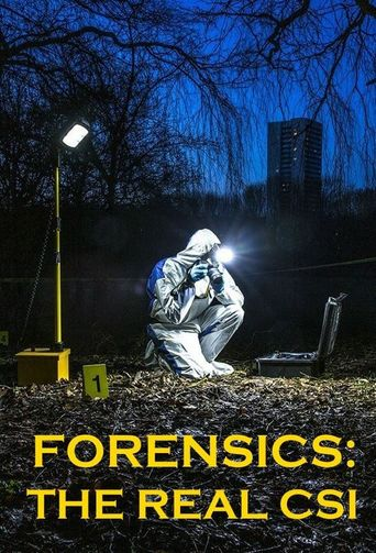 Forensics: The Real CSI Poster