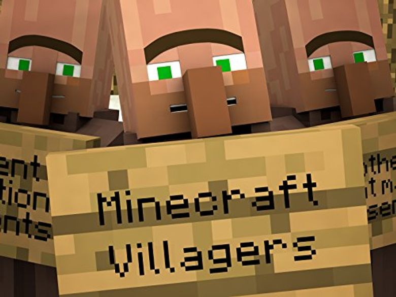 Minecraft Villagers Poster