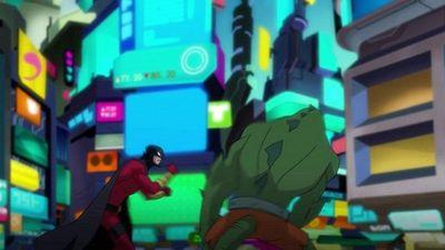 Season 01, Episode 03 Red Robin And Nightwing Take Down Killer Croc