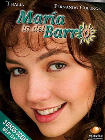 María la del Barrio Poster
