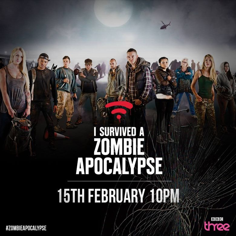 I Survived a Zombie Apocalypse Poster