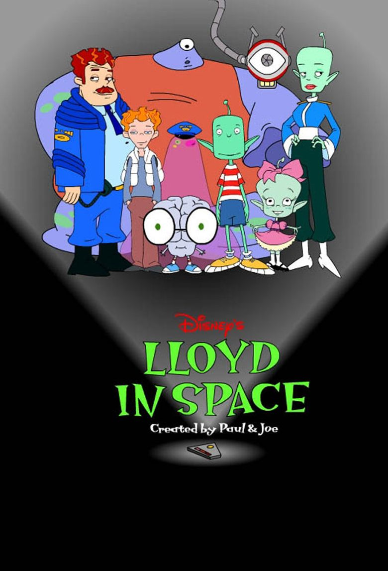 Lloyd in Space Poster