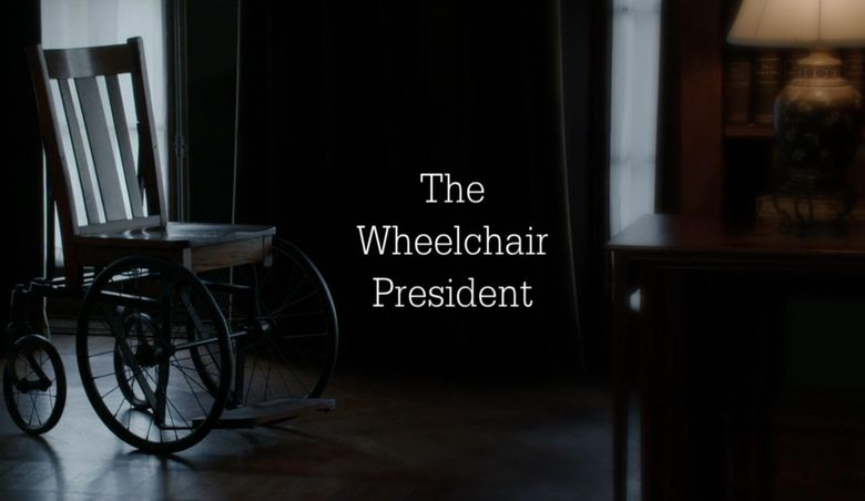 The Wheelchair President Poster