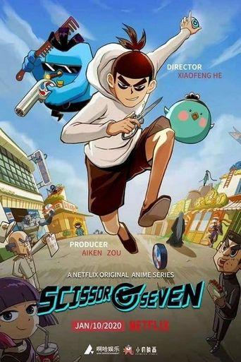 Scissor Seven Poster