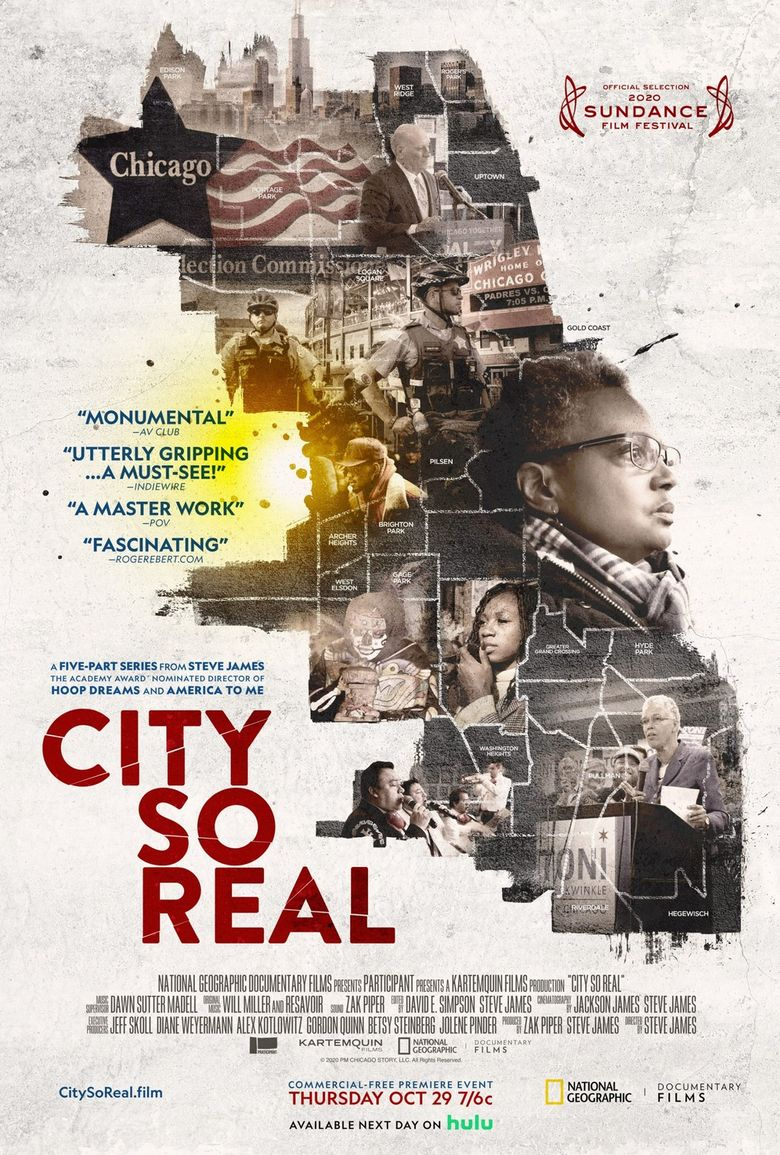 City So Real Poster