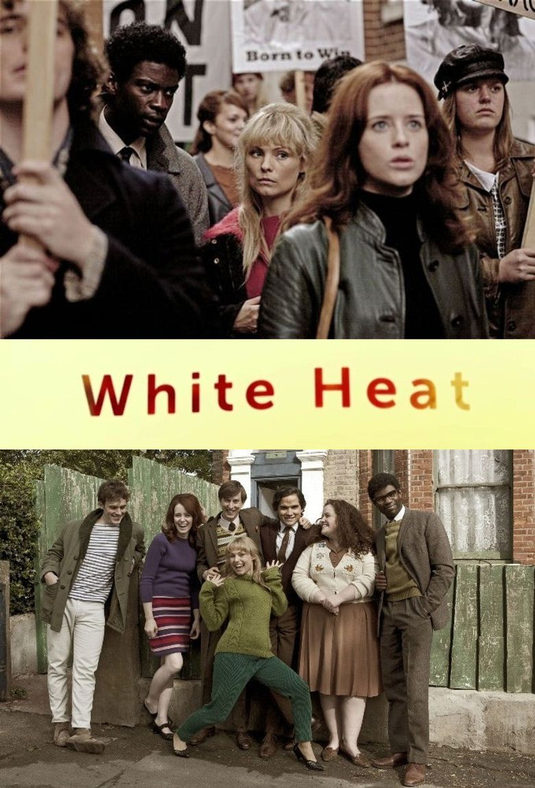 White Heat Poster