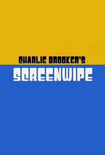 Charlie Brooker's Screenwipe Poster