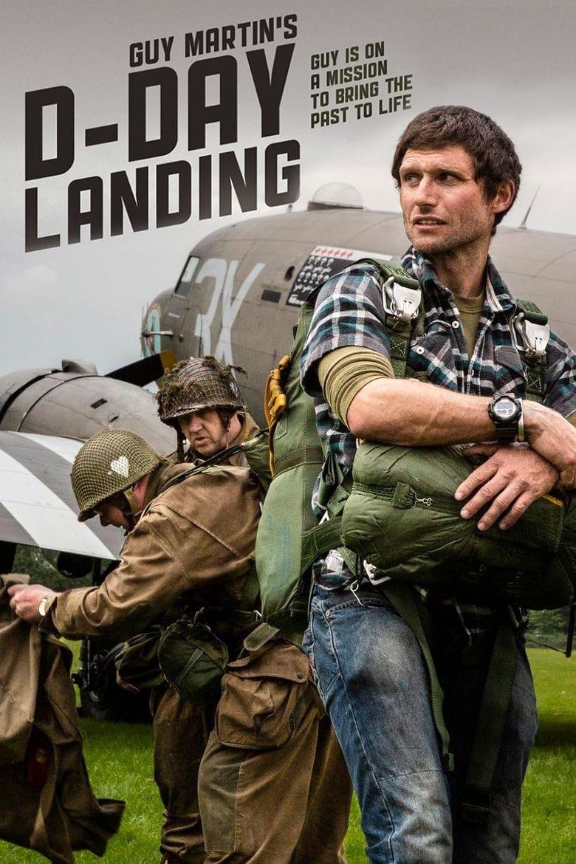 Guy Martin's D-Day Landing Poster