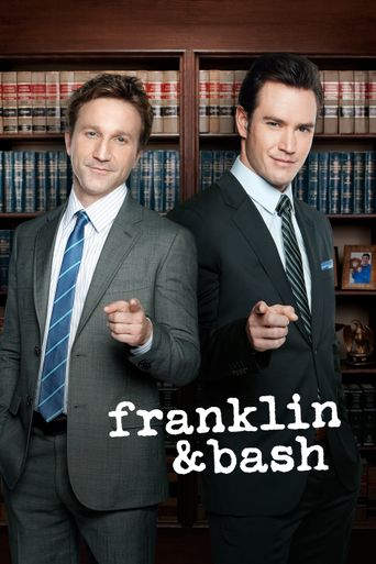 Franklin & Bash Poster