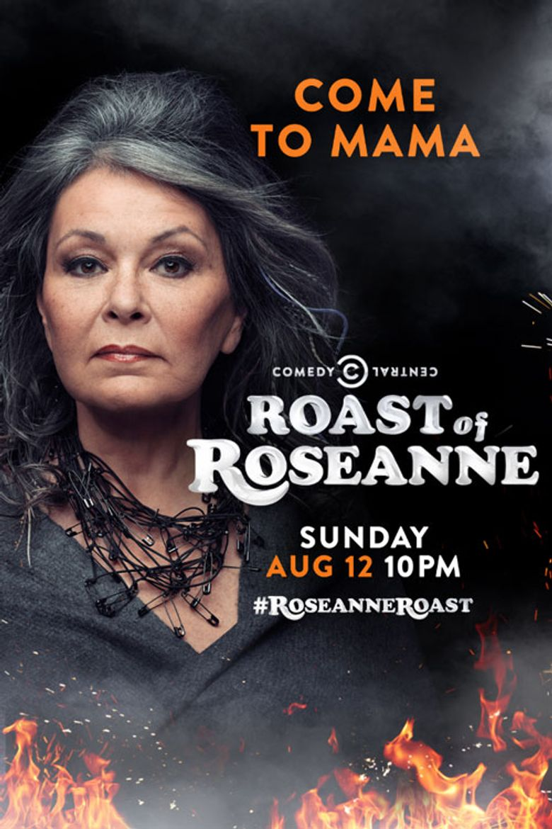 Comedy Central Roast Poster