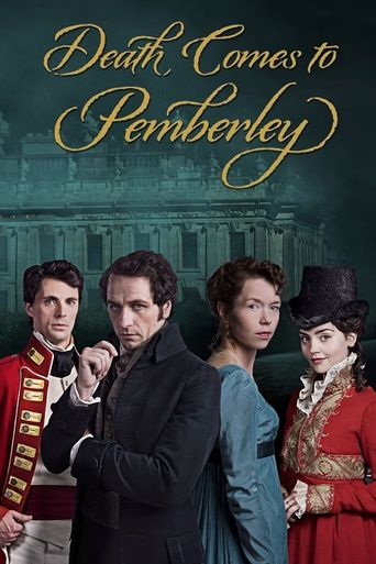 Death Comes to Pemberley Poster