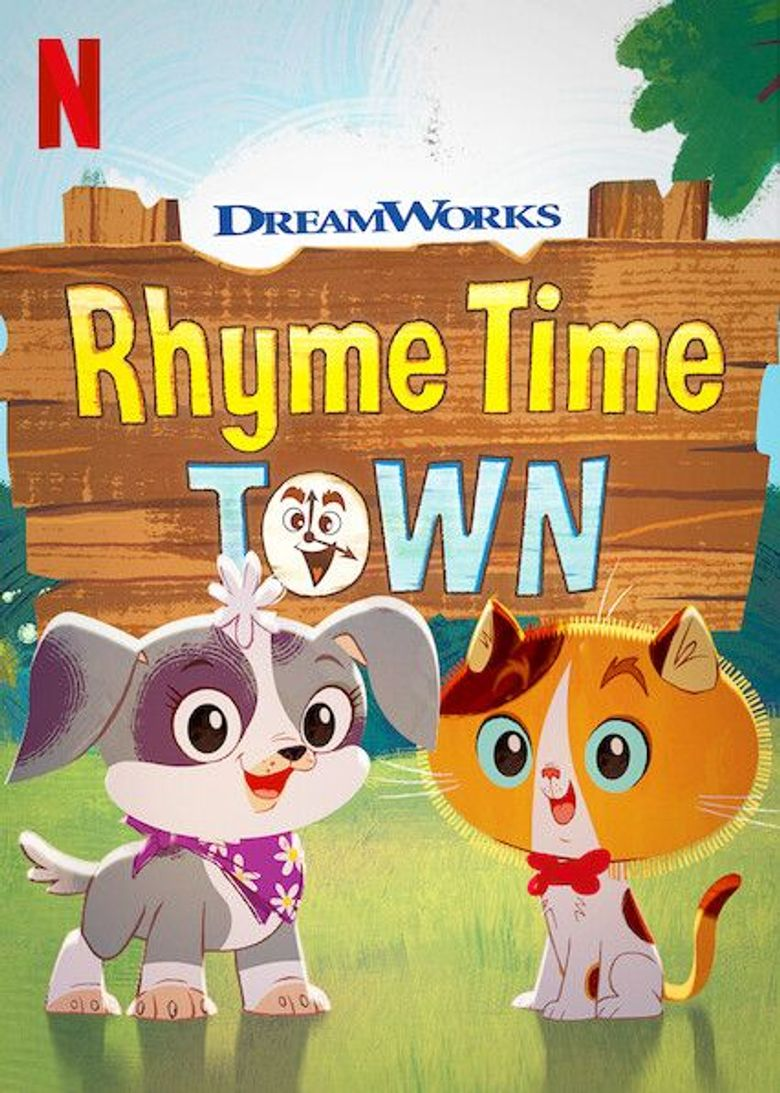 Rhyme Time Town Poster