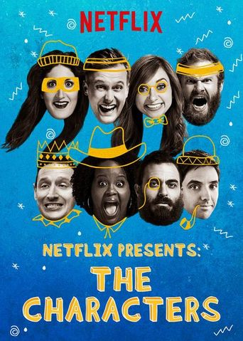 Netflix Presents: The Characters Poster