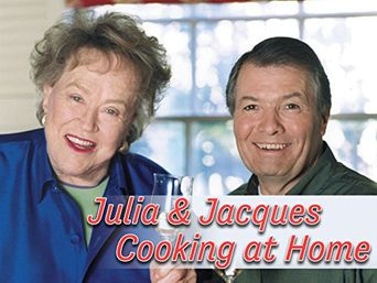 Julia and Jacques Cooking at Home Poster