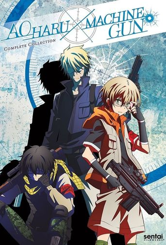 Aoharu x Machinegun Poster