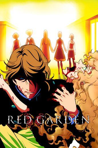 Red Garden Poster
