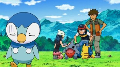 Season 13, Episode 07 Piplup, Up and Away!