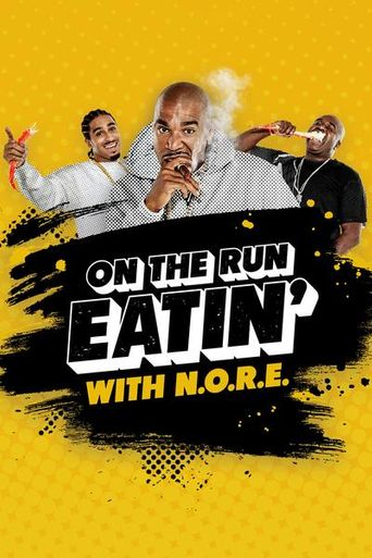 On the Run Eating Poster