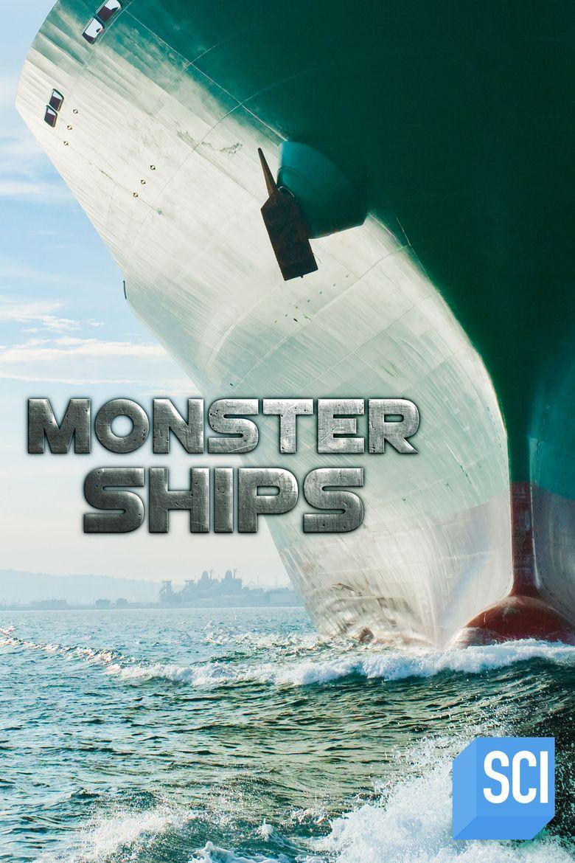 Monster Ships Poster