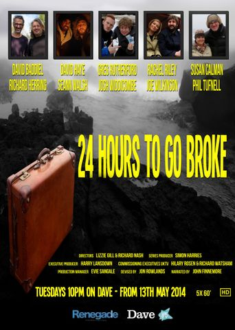 24 Hours to Go Broke Poster