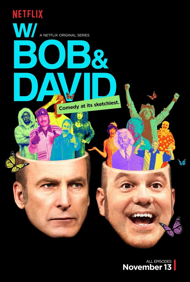 W/ Bob & David Poster