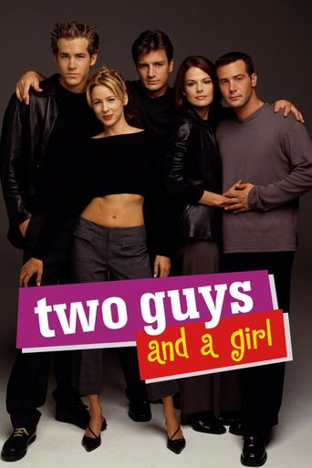 Two Guys and a Girl Poster