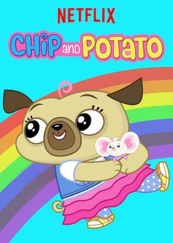 Chip and Potato Poster