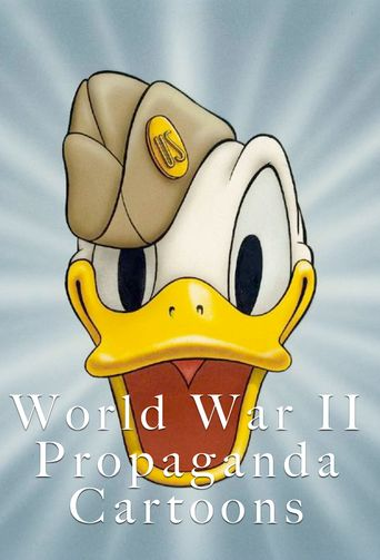 World War II Propaganda Cartoons Poster
